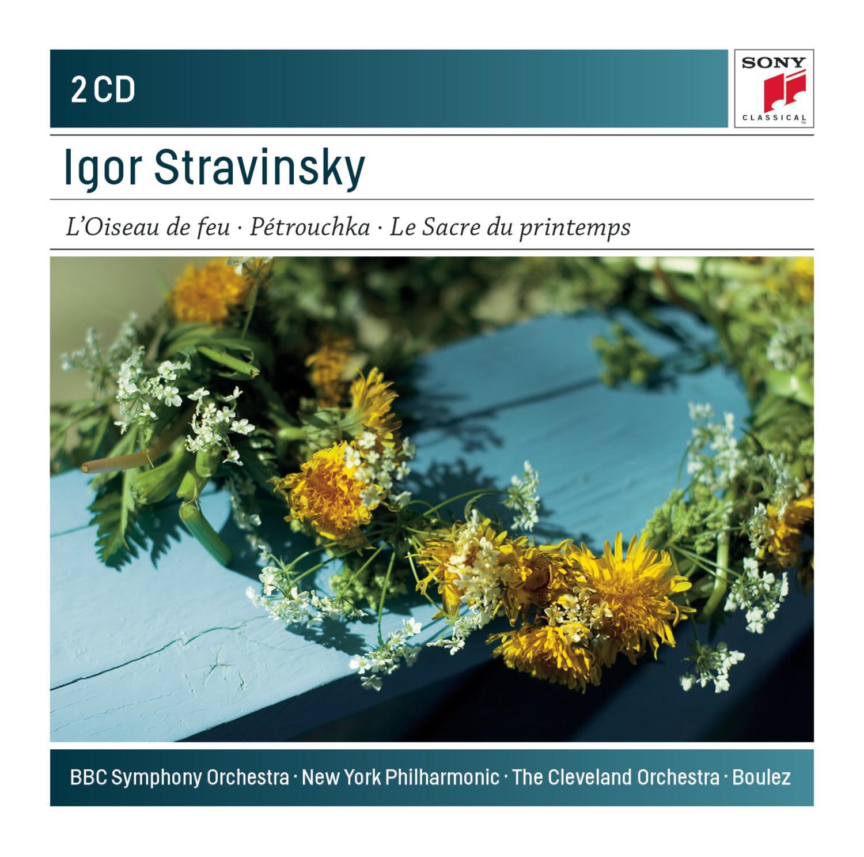 CD : New York Philharmonic - BBC Symphony Orchestra - The Cleveland Orchestra - Firebird Petr (CD)