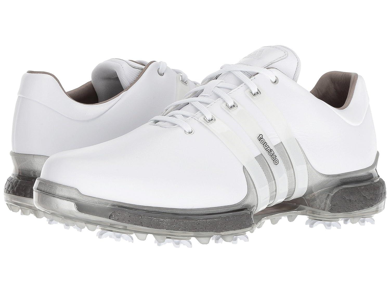 [adidas(アディダス)] メンズゴルフシューズ靴 Tour360 2.0 Limited Edition/White/Trace Grey Metallic 7 (25cm) E - Wide B07D8P9RCN