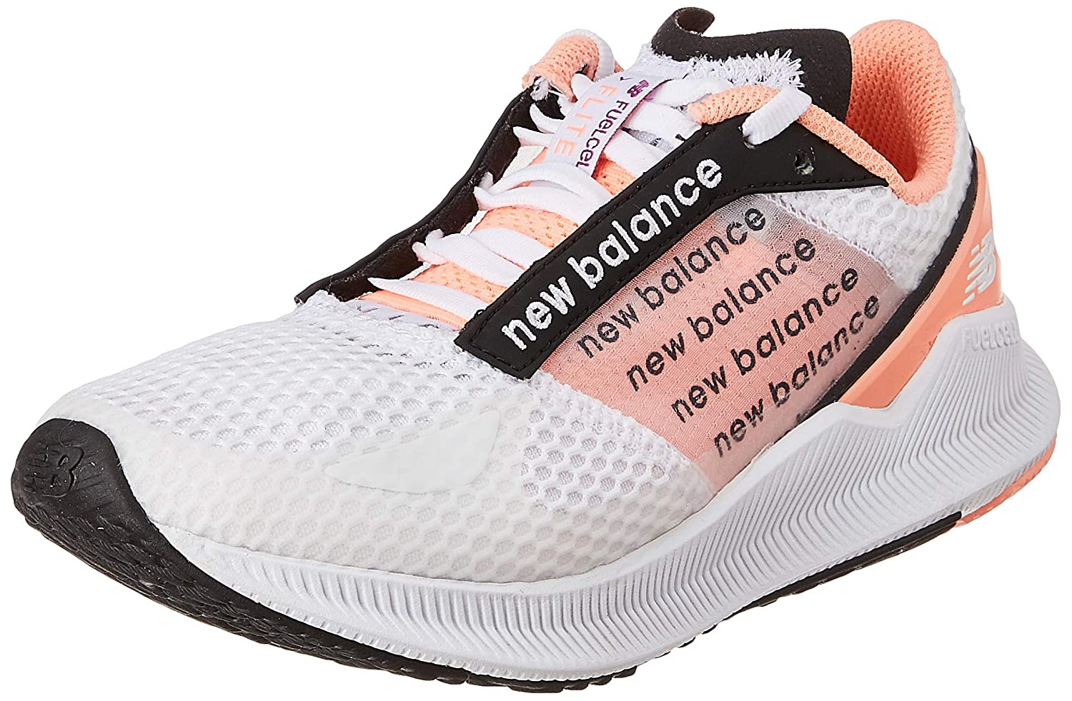 FuelCell Flite White/Pink Running Shoe