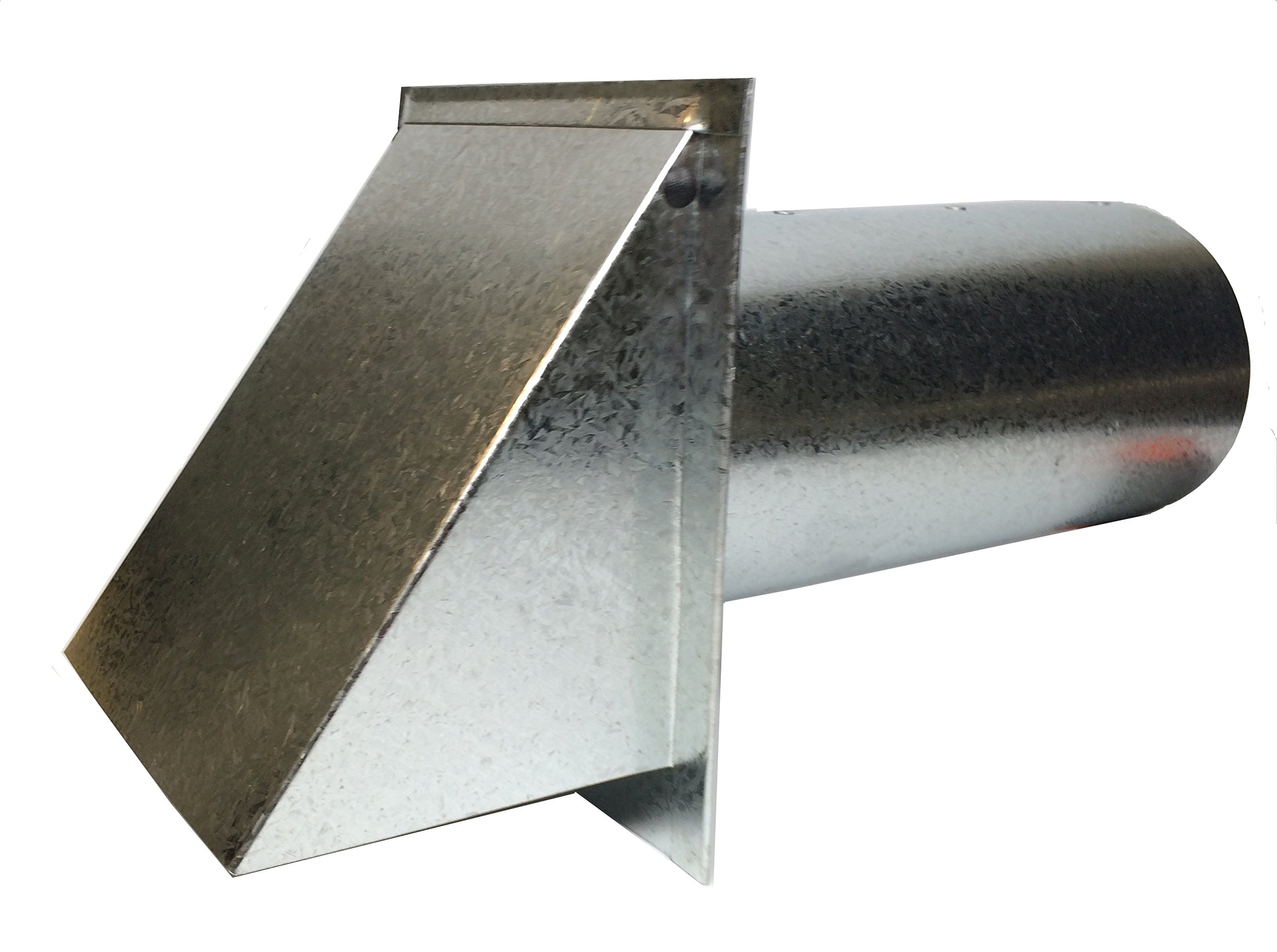 Deluxe Dryer Vent, Steel with Magnetic Damper (Steel)