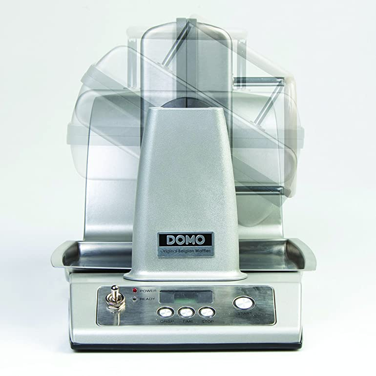 Domo Stainless Steel Waffle Maker: Amazon.co.uk: Kitchen & Home