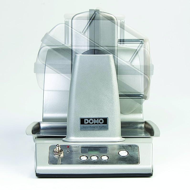 Domo DO-9043W Gaufrier Semi-Professionnel Automatique Inox 1400 W ...
