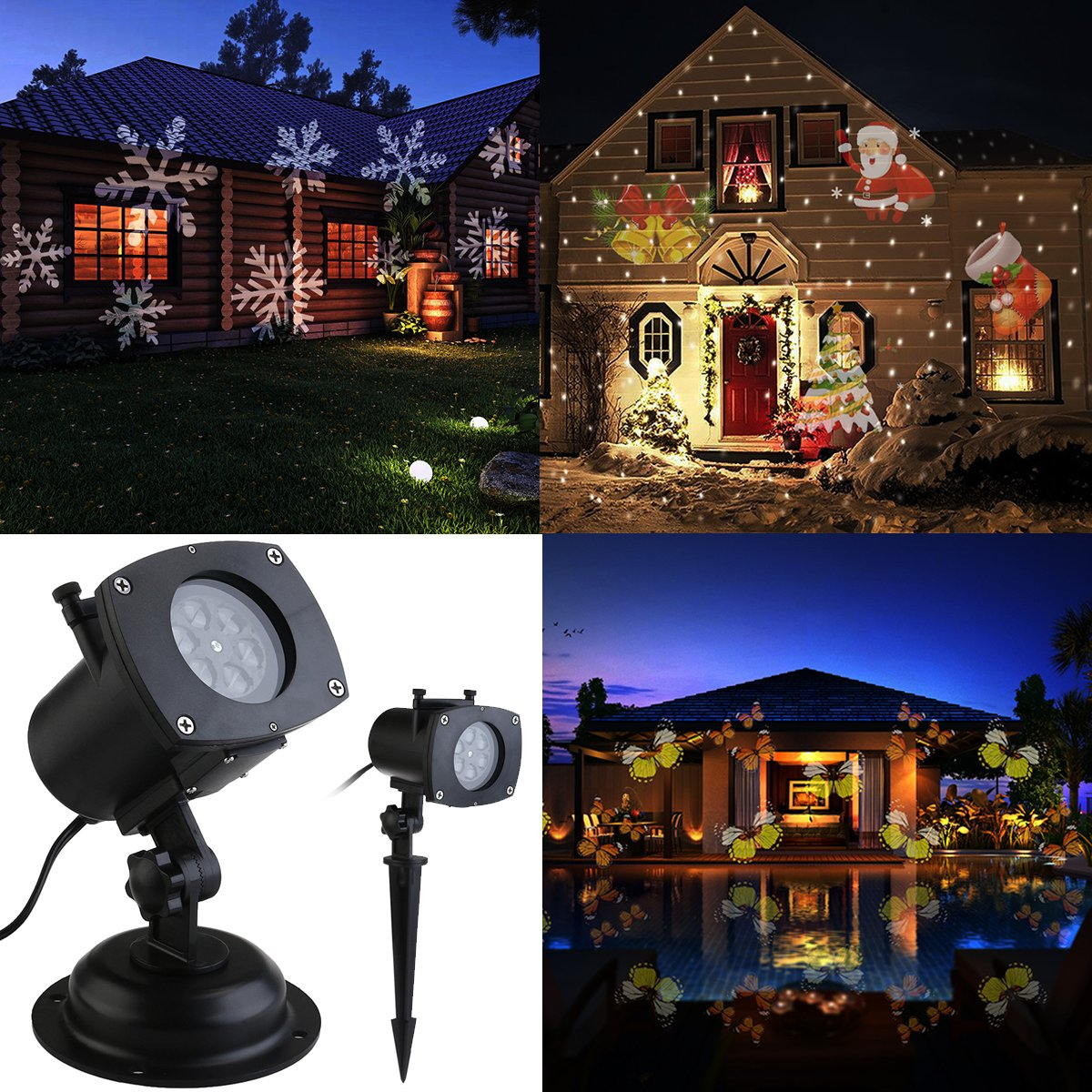 ttw christmas led for holiday amazon decorations lighting laser ihoven projection dp com waterproof star party red and lights light green projector