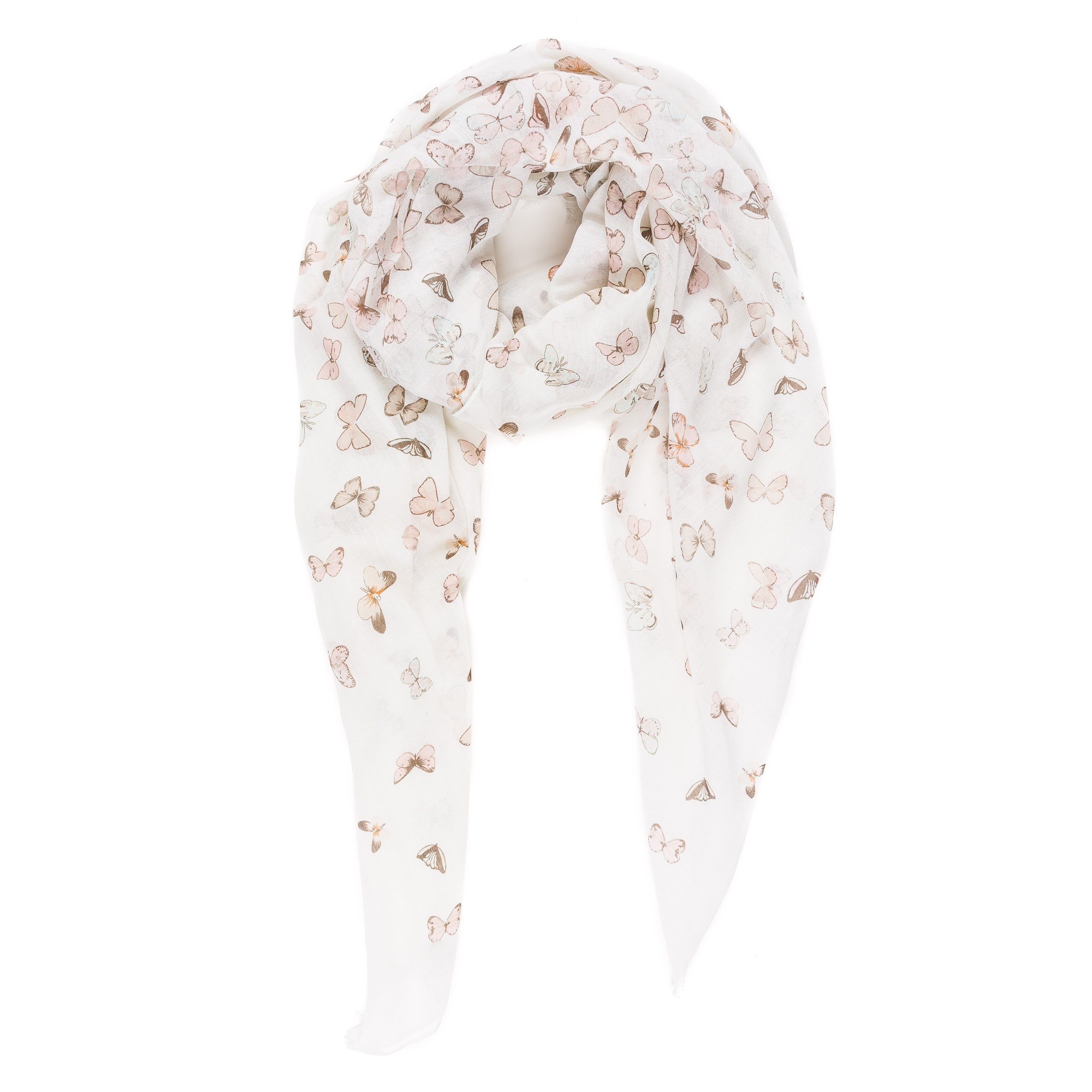 Scarf for Women Lightweight Butterfly Fashion Fall Winter Scarves Shawl Wraps by Melifluos (SS23) by MELIFLUOS DESIGNED IN SPAIN (Image #3)