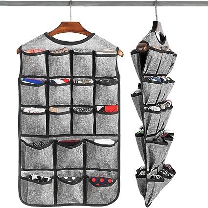 c44fc22f4fd30 Amazon.com  Haundry Hanging Bra Organizer with 26 Pockets