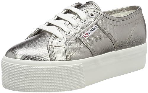 Superga 2790 COTMETW, Zapatillas para Mujer, Gris, 41.5 EU: Amazon.es: Zapatos y complementos