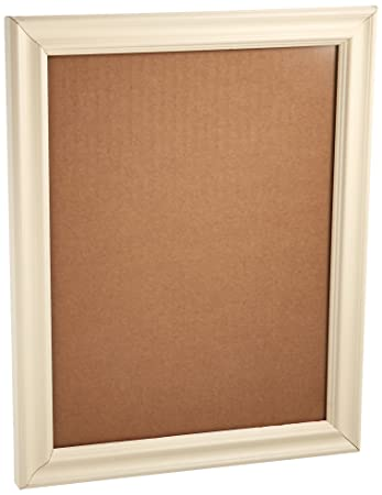arttoframes 18x24 inch off white stain on pine wood picture frame wom0066 60823