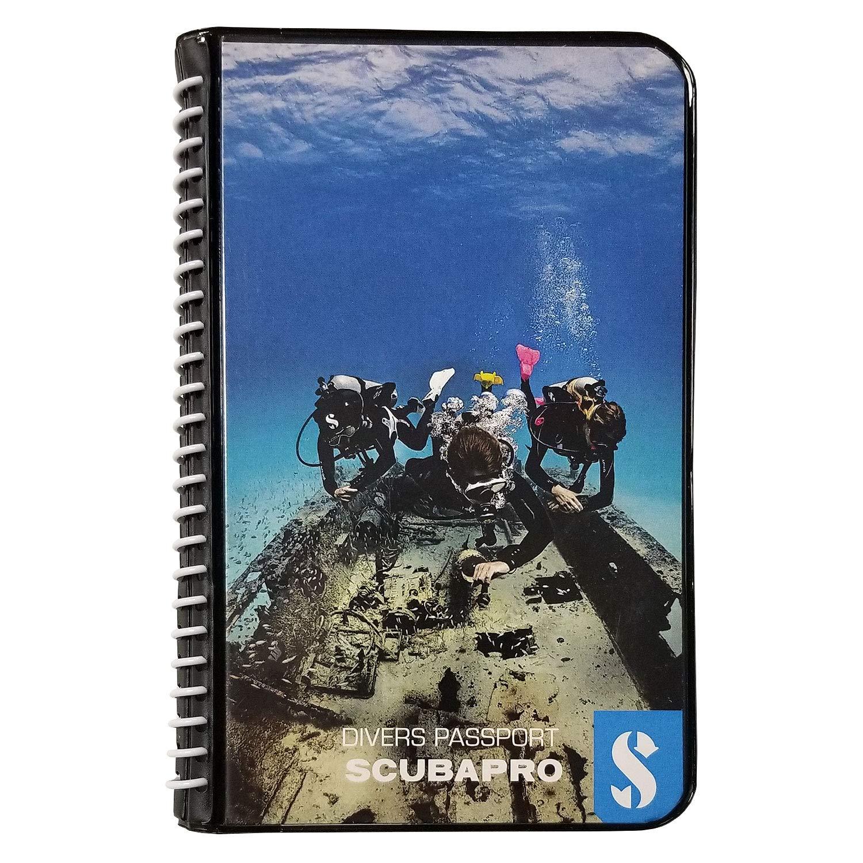 ScubaPro Water Proof Pages Divers Log Book by Scubapro