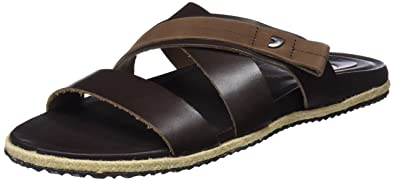 Gioseppo 44640, Sandales Bout Ouvert Homme, Marron (Brown), 41 EU