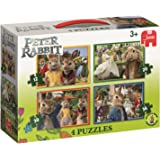 Jumbo Peter Rabbit 19476 4in1 Jigsaw Puzzle Box Set