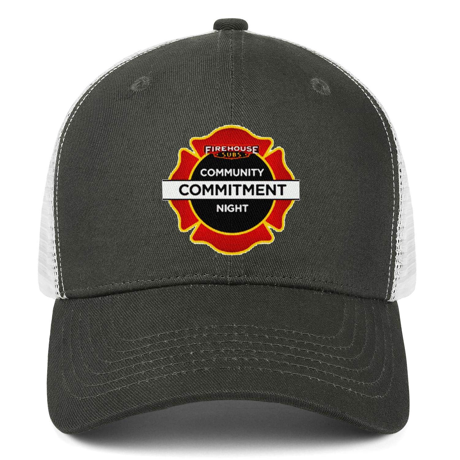 WintyHC Firehouse Subs Sign Cowboy Hat Dad Hat Adjustable Fits Baseball Cap