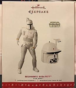 Hallmark Keepsake Ornament Star Wars Beginnings Boba Fett Exclusive SDCC Event 2016