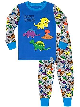 Harry Bear Boys Dinosaur Pyjamas Snuggle Fit