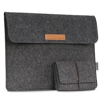 MoKo Etui Housse Pochette en Feutre de Laine pour Microsoft Surface Book  13.5 Pouces Ordinateur Portable 5b60e5d4c0e