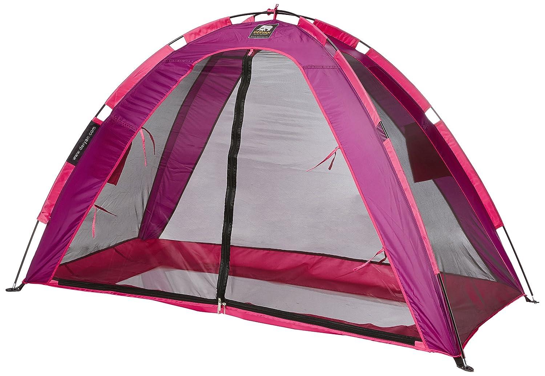 Deryan Schlafzelt Bed-Tent Kleuter für Peuter Bettgestell, Bettgestell NICHT inklusive, Rosa