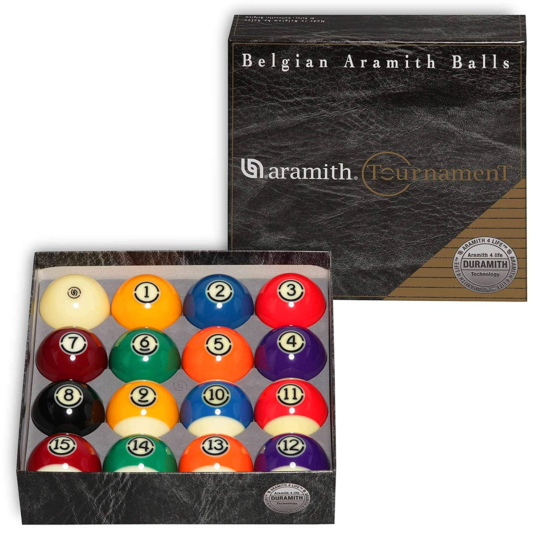Aramith トーナメントビリヤードプールボールセット 2 1/4インチ B07KDY4F27