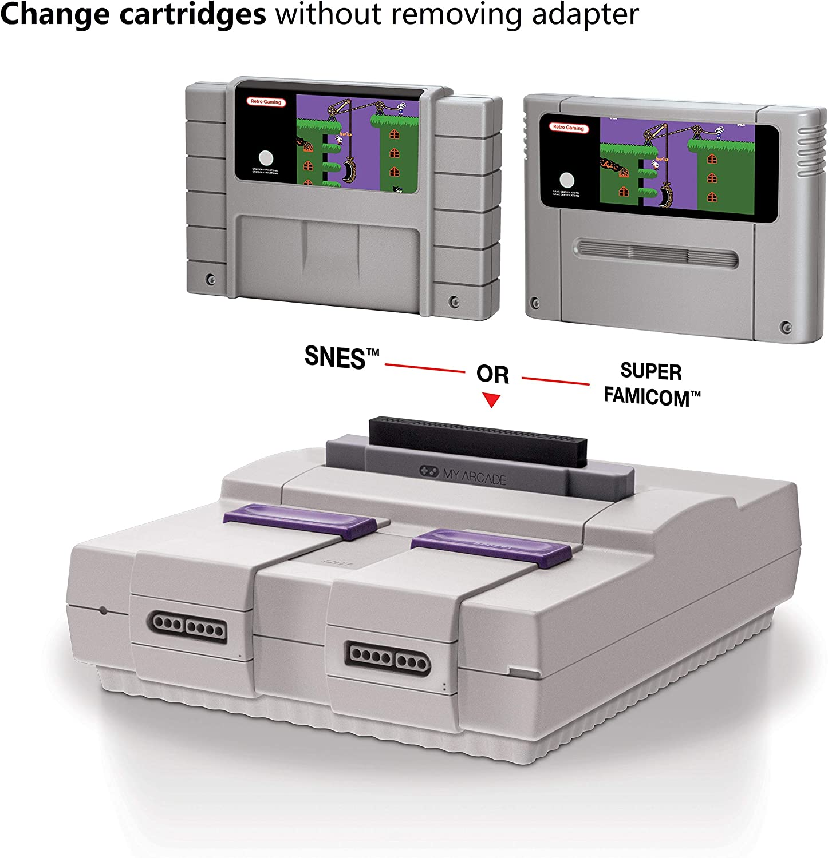 Amazon.com: My Arcade Cartridge Converter - Famicom to NES ...