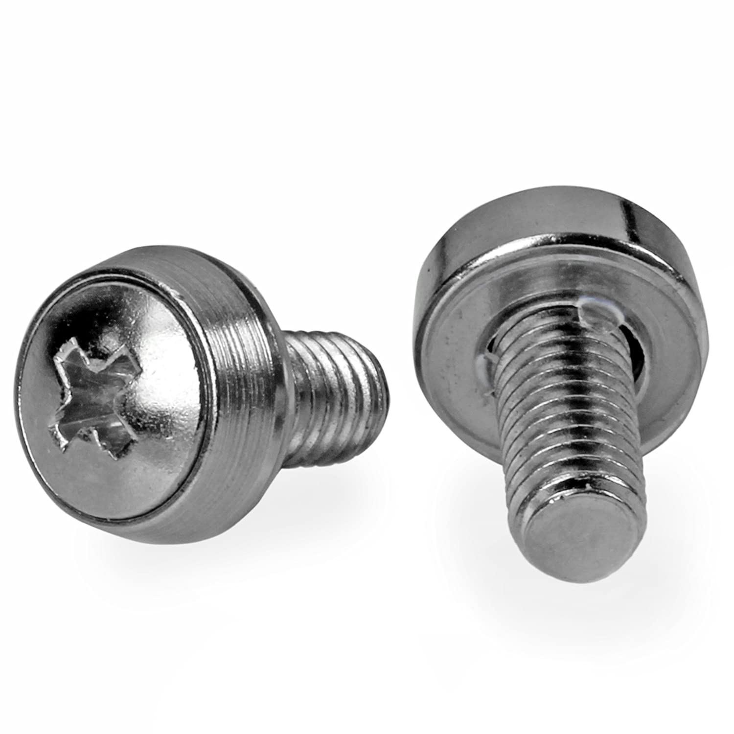 Amazon.com: StarTech.com 50 Pkg M6 Mounting Screws for Server Rack Cabinet: Electronics