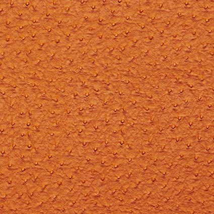 Amazon Com Tiger Lily Orange Ostrich Skin Animal Hide Look Vinyl