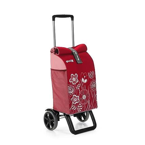 Gimi Rolling Thermo - Carrito de la Compra, Color Rojo