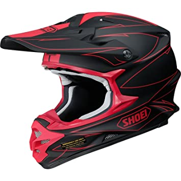 Casco Mx Shoei Vfx-W Hectic Tc1 Rojo (Xl , Rojo)