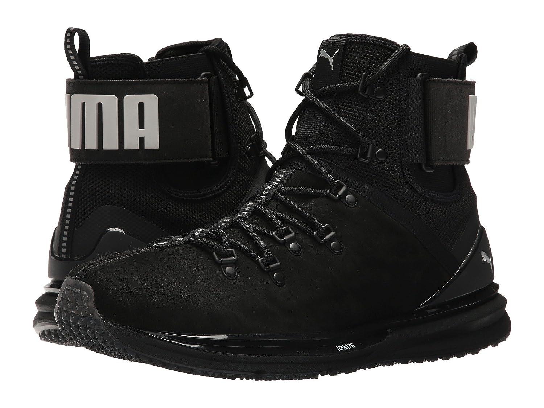 プーマ シューズ スニーカー Ignite Limitless Boot Leather Puma Black [並行輸入品] B076BSC6WF