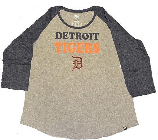 47 Brand Womens Clutch Backer Long Sleeve Club Tee Shirt MLB Ladies LS 2-Sided T-Shirt