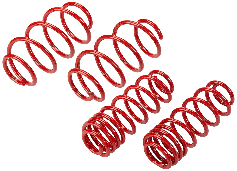 Autostyle 65242 Tieflegungsfedern 40 mm Red