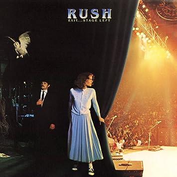 Exitstage Left 2lp Limited Edition Vinyl Lp Rush Amazonde