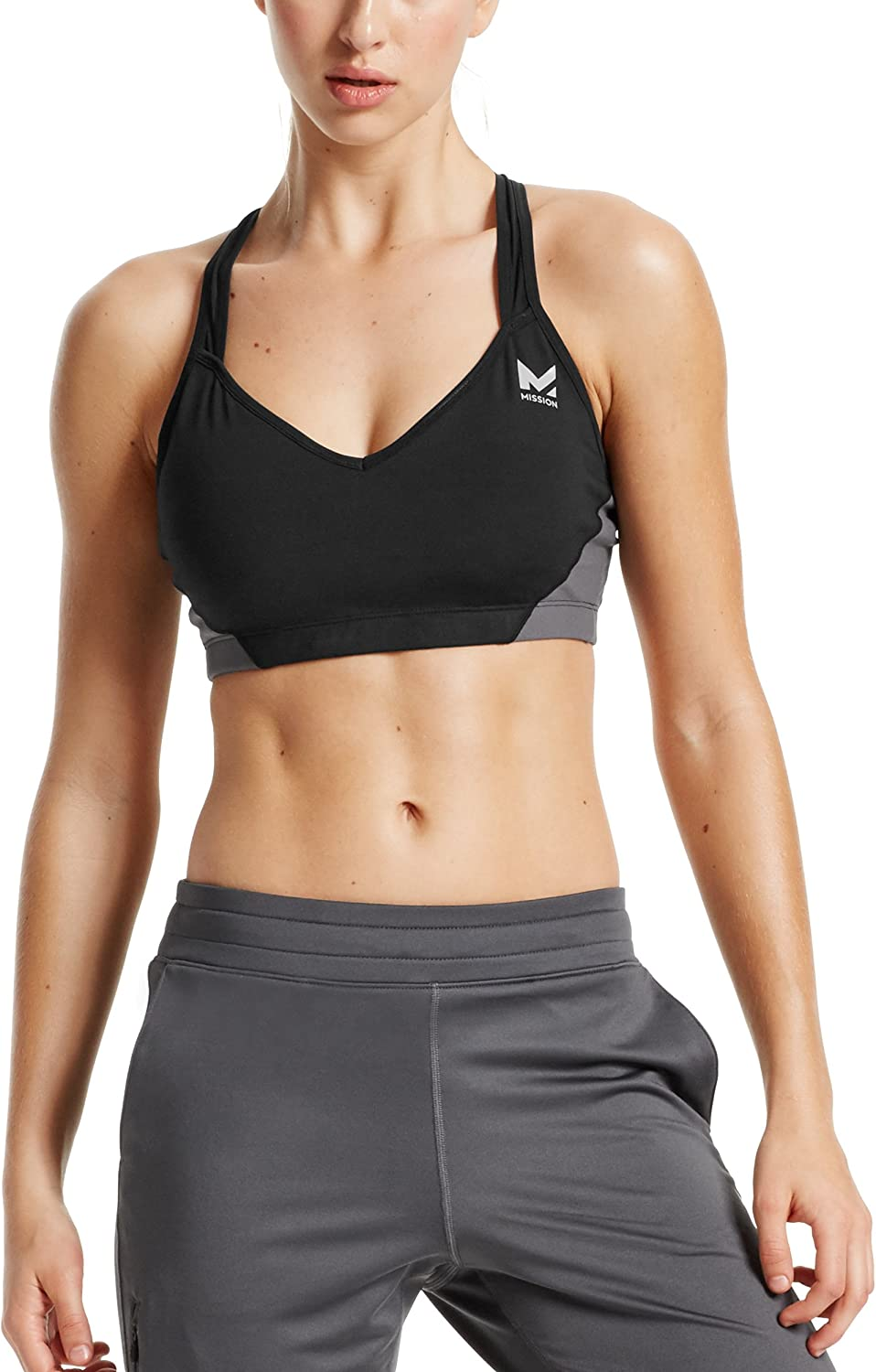 Mission Women's VaporActive Celsius Crossback Medium Impact Sports Bra