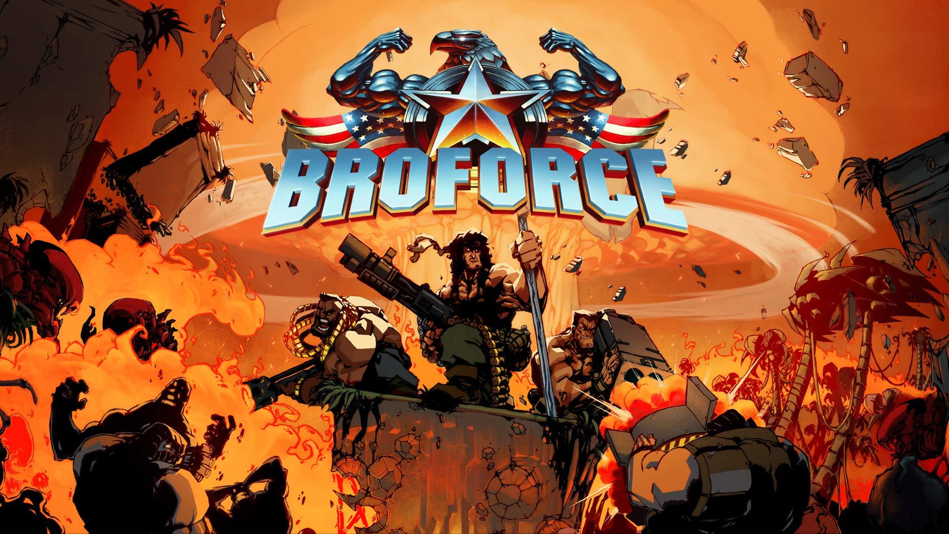 Broforce - Nintendo Switch [Digital Code]