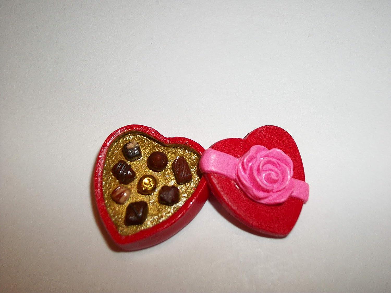 Miniature Dollhouse Chocolate Dessert A107 Valentine Candy Doll Food