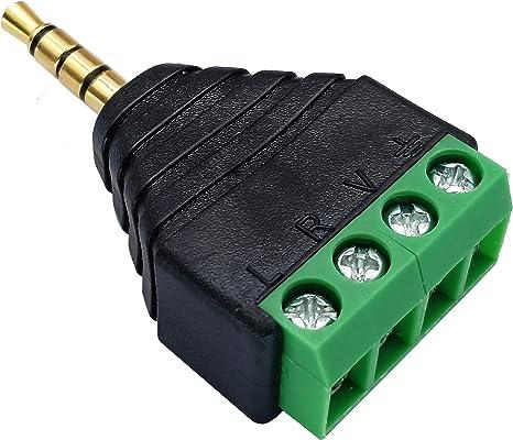 TV LCD etc. Audio Video 28 cm-M//F HDTV Chapado en Oro 4 Polos 3.5 mm Macho a 3 RCA Hembra TTRS Cable Adaptador Audio Est/éreo AUX para AV AAOTOKK Cable Conector Audio 3.5 mm a 3 RCA
