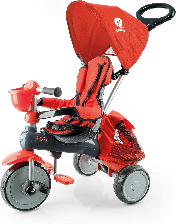 Qplay Triciclo Ranger Rojo