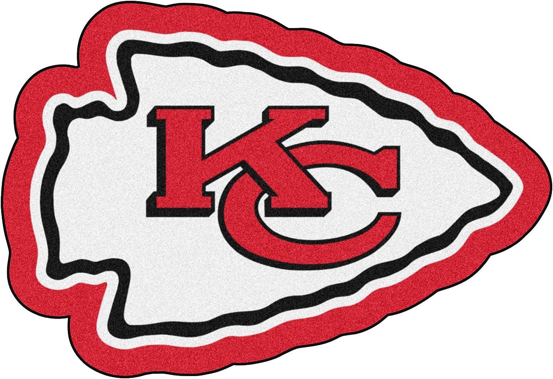 FANMATS NFL - Kansas City Chiefs Mascot Rug , 3' x 4'