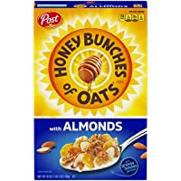 Deals on Post Honey Bunches of Oats w/Crispy Almonds Breakfast Cereal 18Oz