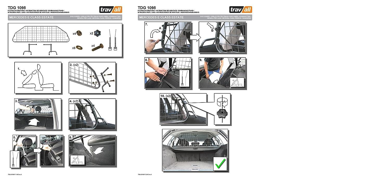 Travall Guard TDG1098 – Griglia Griglia Griglia Divisoria Specifica in Acciaio Dolce a70ecb