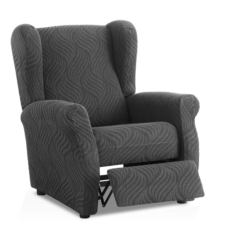 Funda de sillón Relax elástica Aitana - Color Gris - Tamaño ...