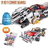Engineering Toys STEM Learning Kits Educational Construction RC Racer Building Blocks Set For 7