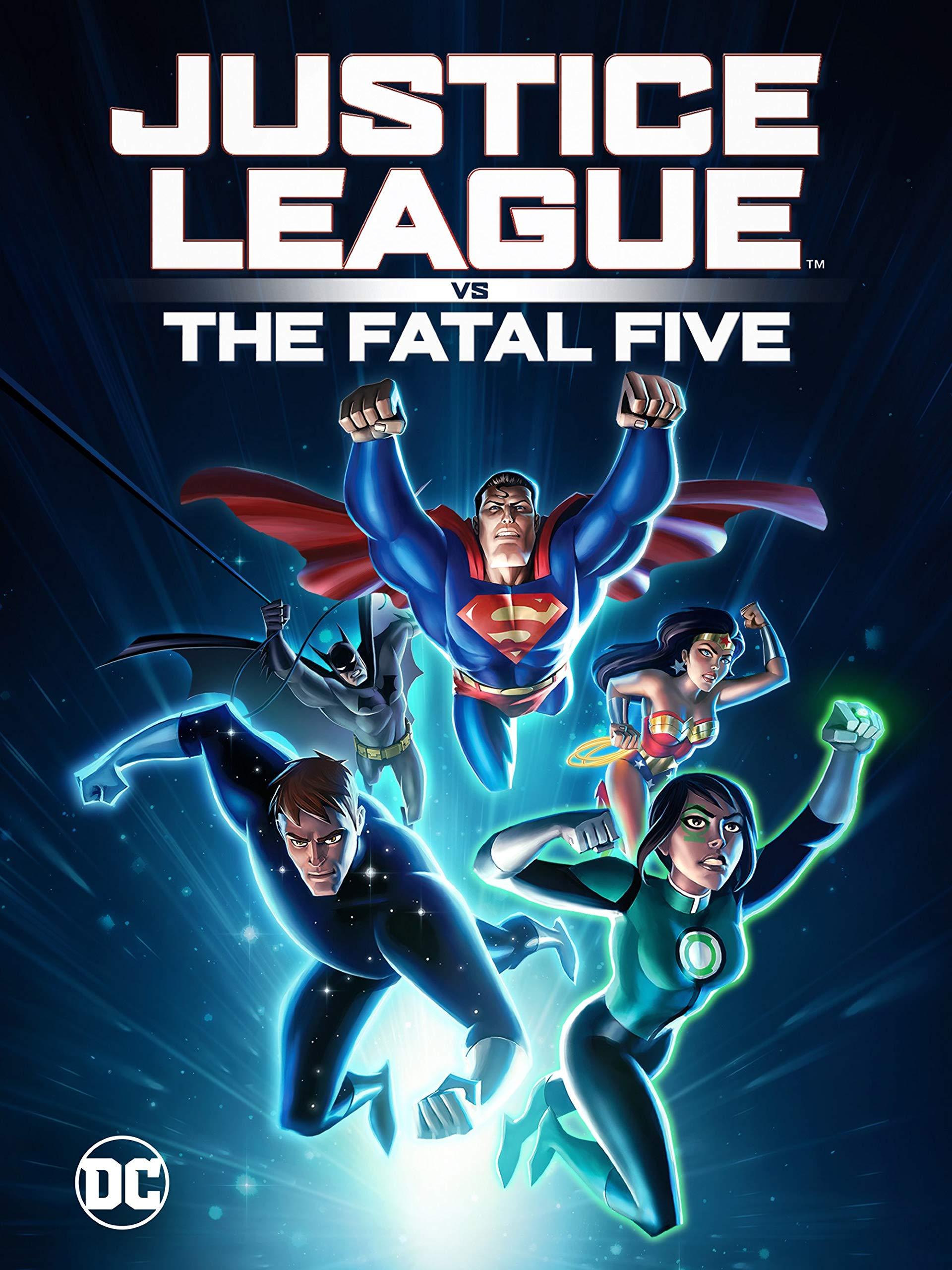 Amazon.com: Justice League vs. The Fatal Five: Elyes Gabel ...