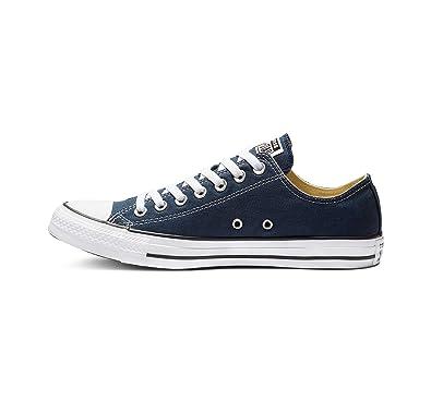 596f6ec2c6 Converse Unisex-Erwachsene Chuck Taylor All Star-Ox Low-Top Sneakers, Blau