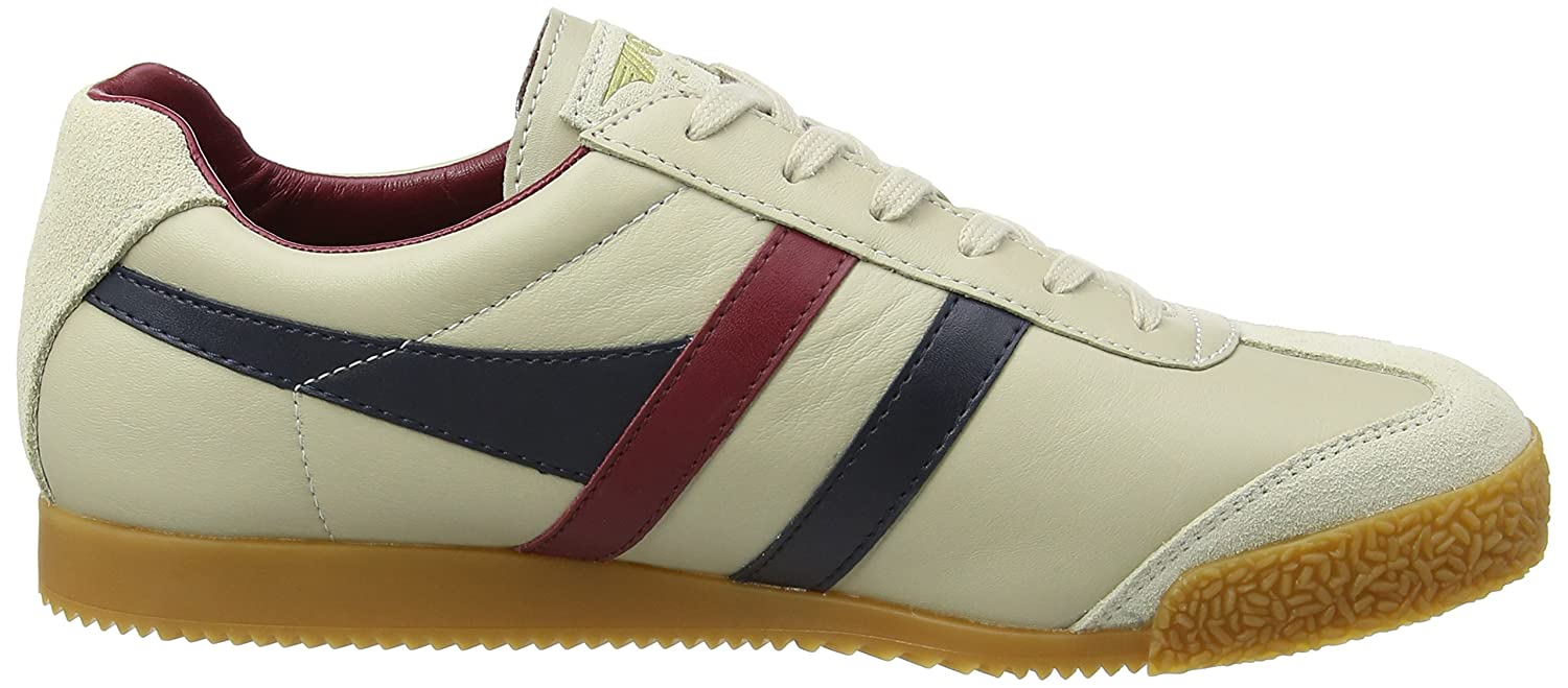 Gola Mens Harrier Leather Sneakers
