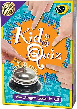 Cheatwell Games Kidz Quiz - Juego de mesa de preguntas y respuestas (texto en inglés): Amazon.es: Juguetes y juegos