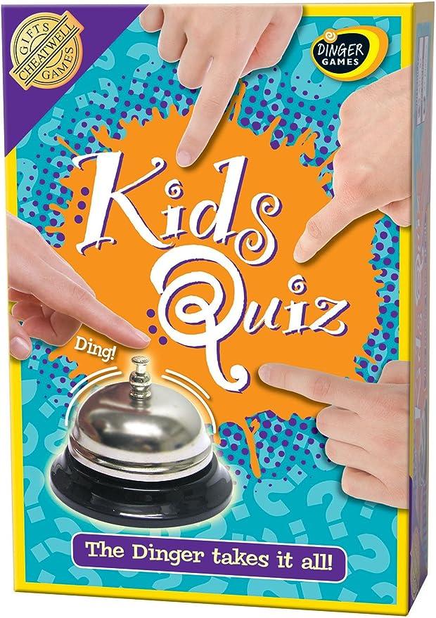 Cheatwell Games Kidz Quiz - Juego de mesa de preguntas y ...