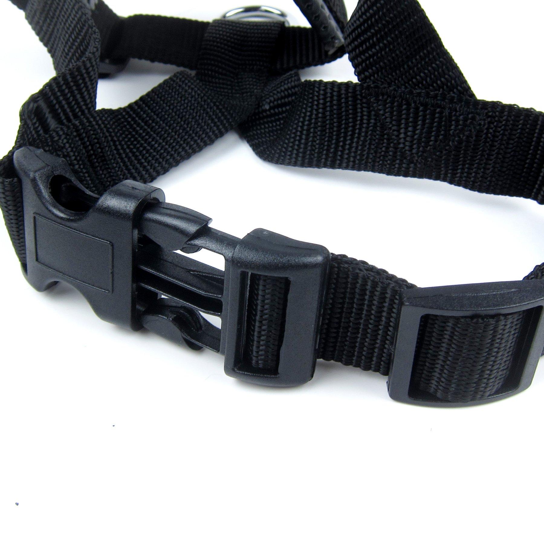 Alfie Pet by Petoga Couture - Jaimy Adjustable Quick Fit Nylon Muzzle - Color: Black, Size: XXL by Alfie (Image #6)