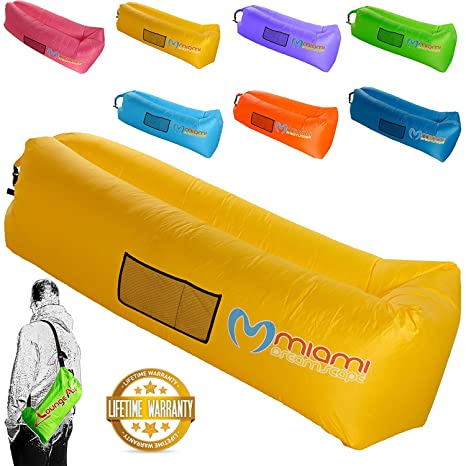 ZLoungeAir Inflatable Couch - Portable Lightweight Durable Fun Outdoor Air  Lounger - Inflatable Lounge Float for 8eb88d1d9e803