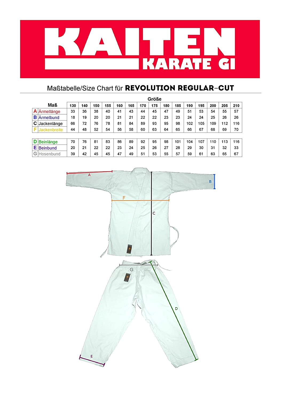 Kaiten Karateanzug Revolution Sovereign Regular
