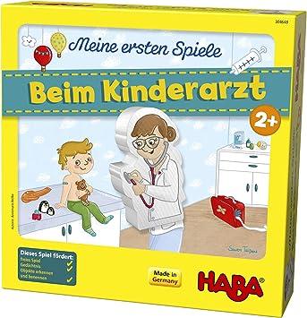 Haba 304648 - Juego Infantil para Aprender a Usar en el médico, para niños de 1 a 4 Jugadores, a Partir de 2 años: Amazon.es: Juguetes y juegos