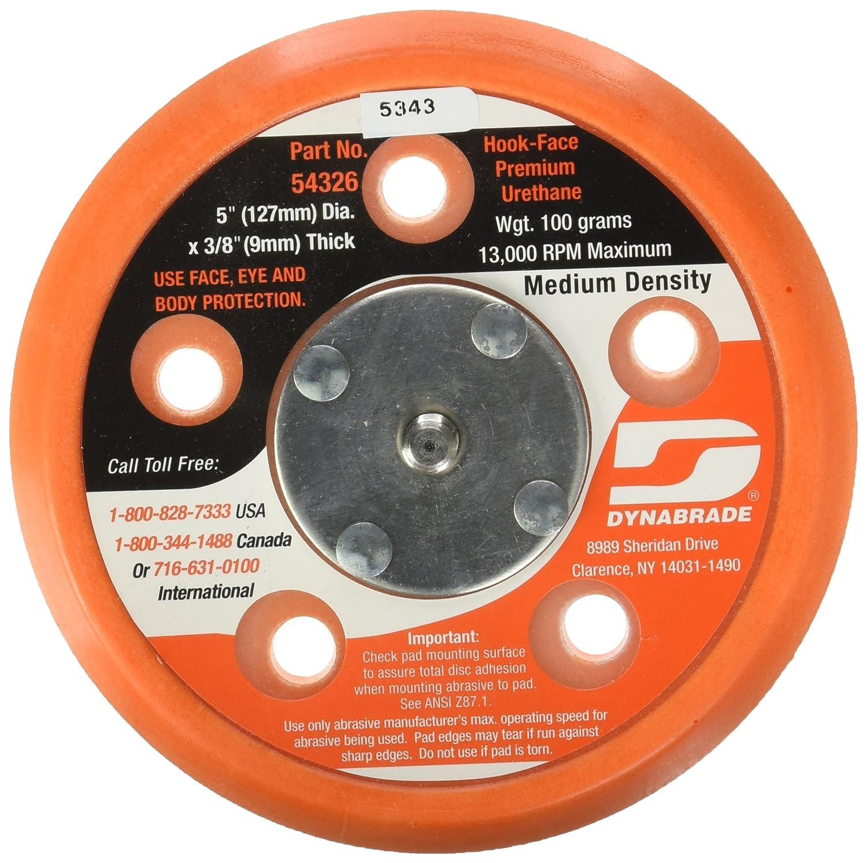 Dynabrade 54326 5 Inch Diameter Hook Face Short Nap 3 8
