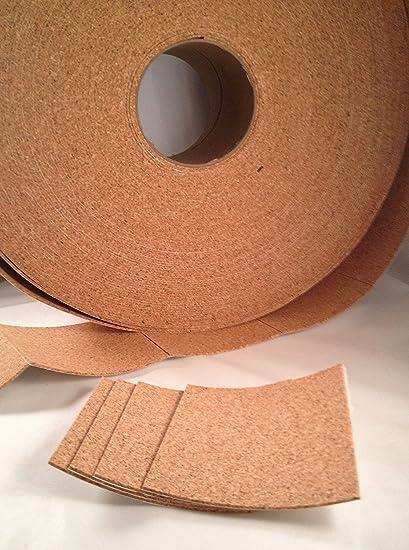 24 Self Adhesive Cork Backing for Tile Coasters 3 5